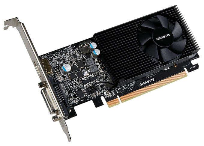 Best GPU under 100 - Gigabyte GT 1030