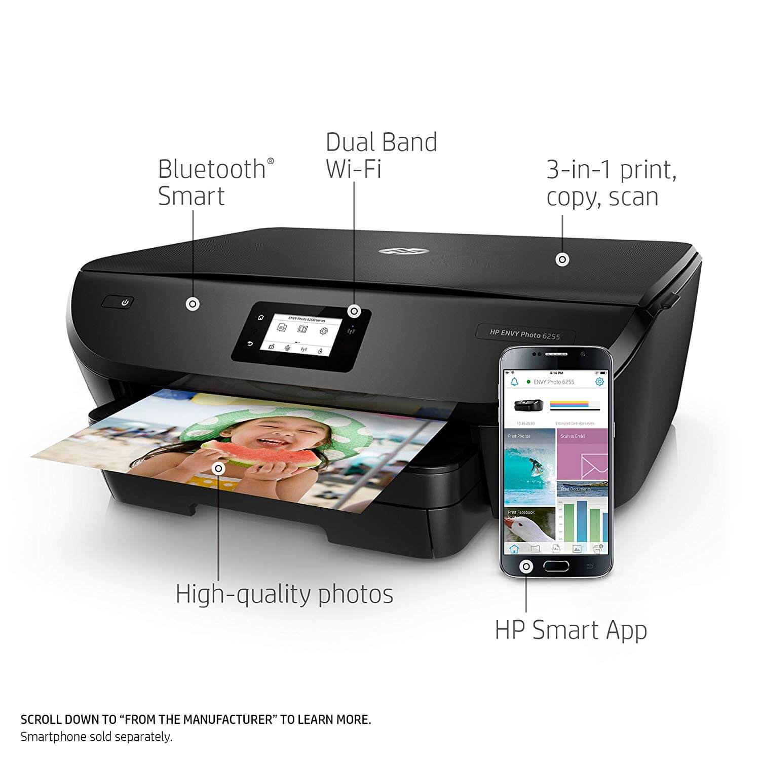 Best printer with the cheapest ink cartridge - HP ENVY 7640