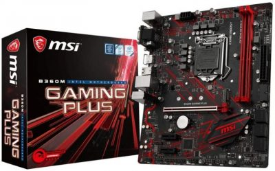 Best B360 Motherboard for i5 8400 - MSI B360M Gaming Plus