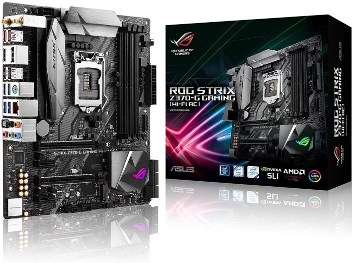 ASUS ROG Strix Z370-G Gaming Review - Best Micro ATX Motherboard for i7 9700k