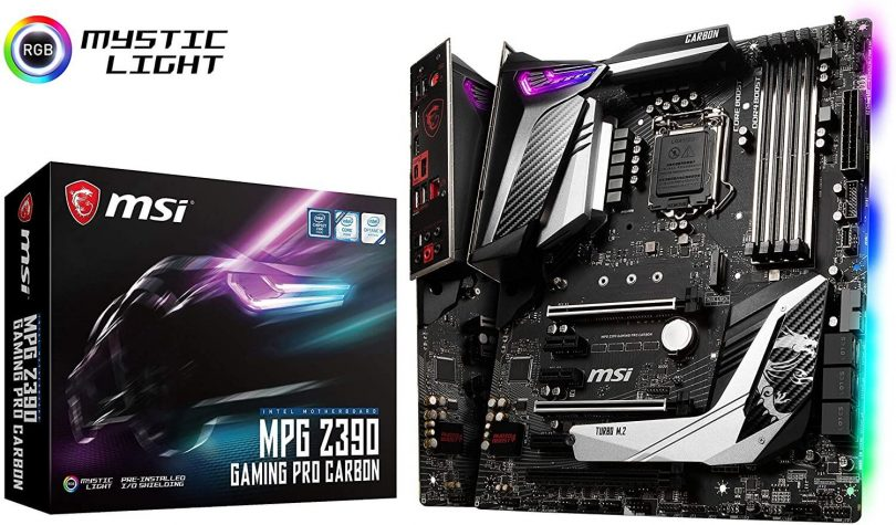 MSI MPG Z390 Gaming Pro Carbon Review - Best overall Motherboard for i7 9700k