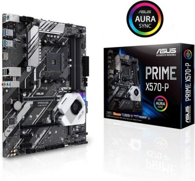 ASUS Prime X570-P - Best Budget motherboard for Ryzen 9 3900x