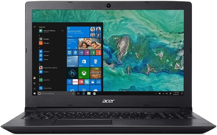 best high performance laptop for non gamers - Acer Aspire 3 A315-41-R9J1