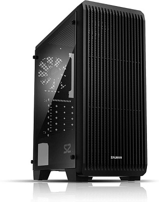 clear gaming pc case
