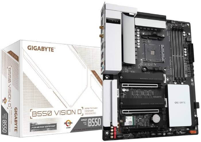 Gigabyte B550 Vision D Review - Best Video Editing Motherboard for Ryzen 9 5900X